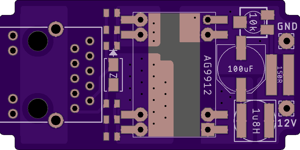 OSH Park circuit board for Raven