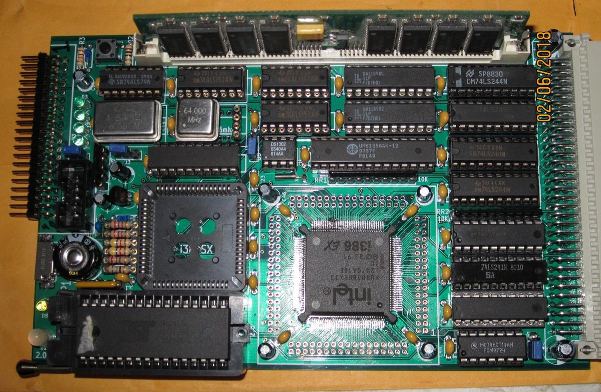 Image of John R Coffman's SBC-386EX board
